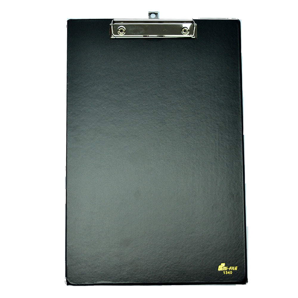 EMI 1340 Wire Clipboard A4 - Black