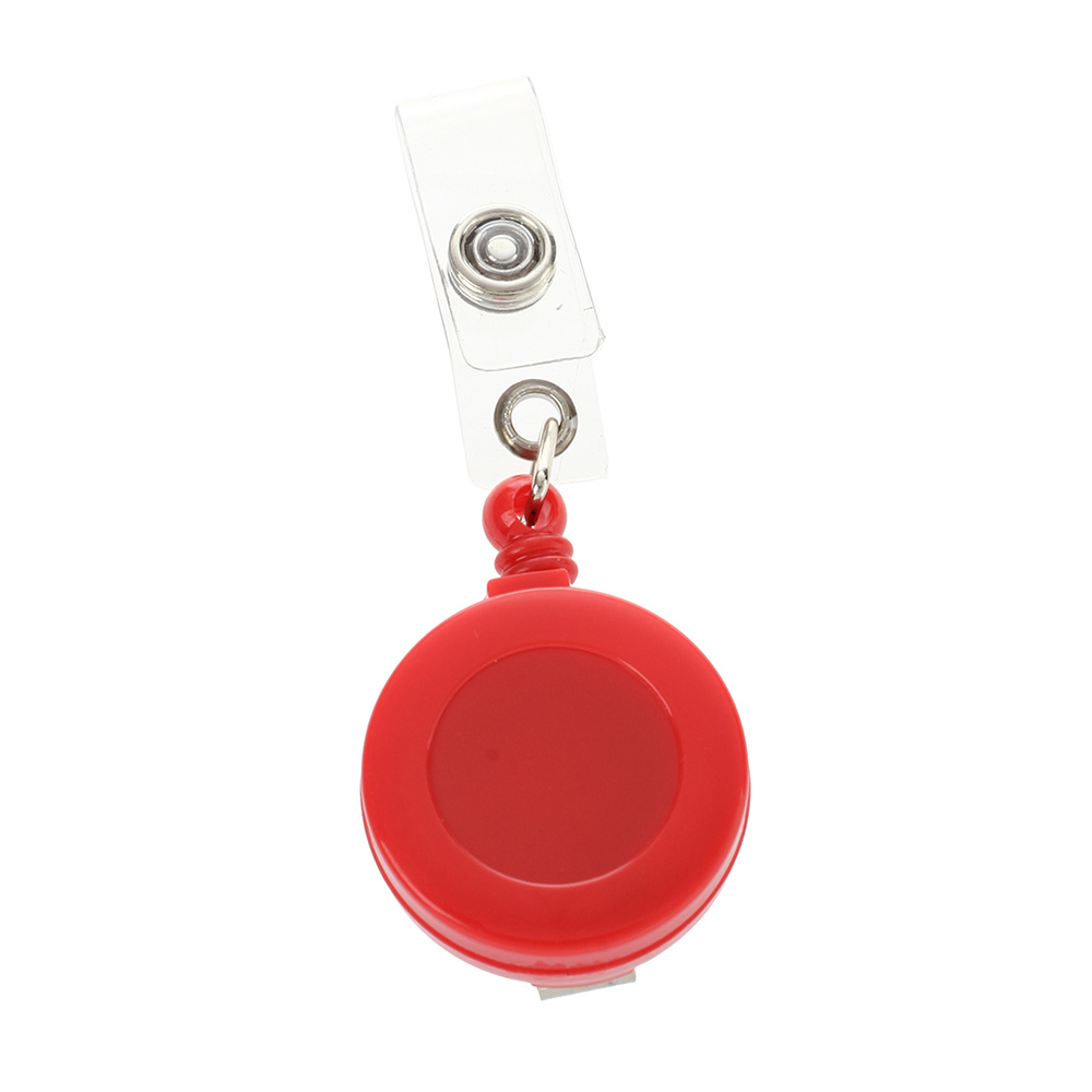 Yoyo Name Badge Clip 10pcs/packet - Red