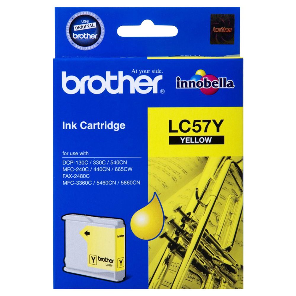 Brother LC-57 Yellow Ink