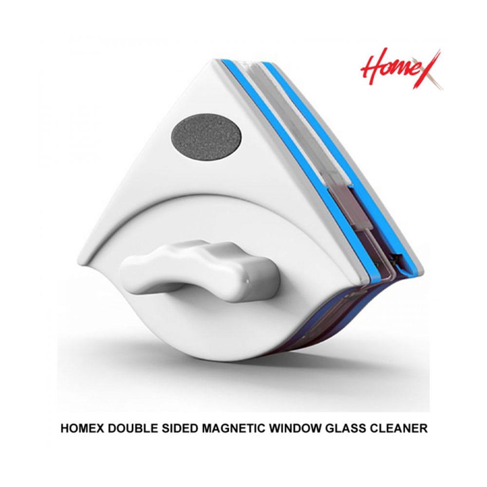 Homex Double Sided Magnetic Window Glass Cleaner + Free 32pcs Consumables