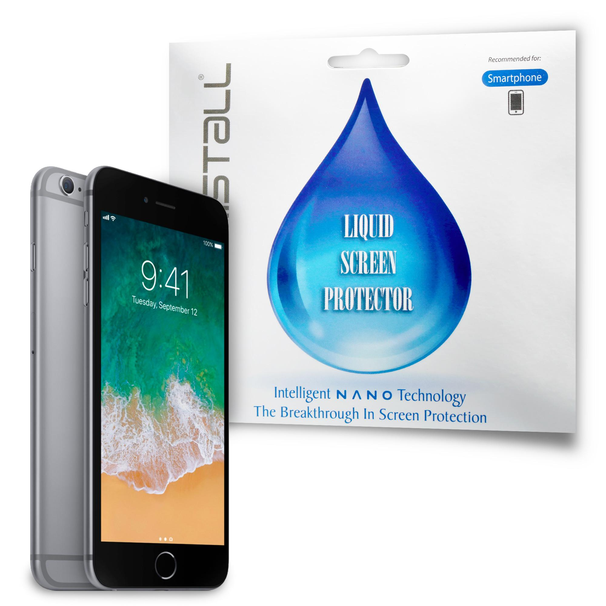 Apple iPhone 6 or iPhone 6 Plus Screen Protector - Kristall® Nano Liquid Screen Protector (Bubble-FREE Screen Protector, 9H Hardness, Scratch Resistant)